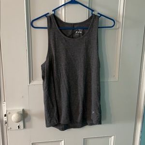 Grey work out tank